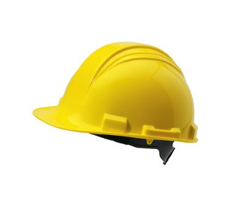 Peak Series Safety Helmet A69R- 6 Point suspension and ratchet headband adjustment