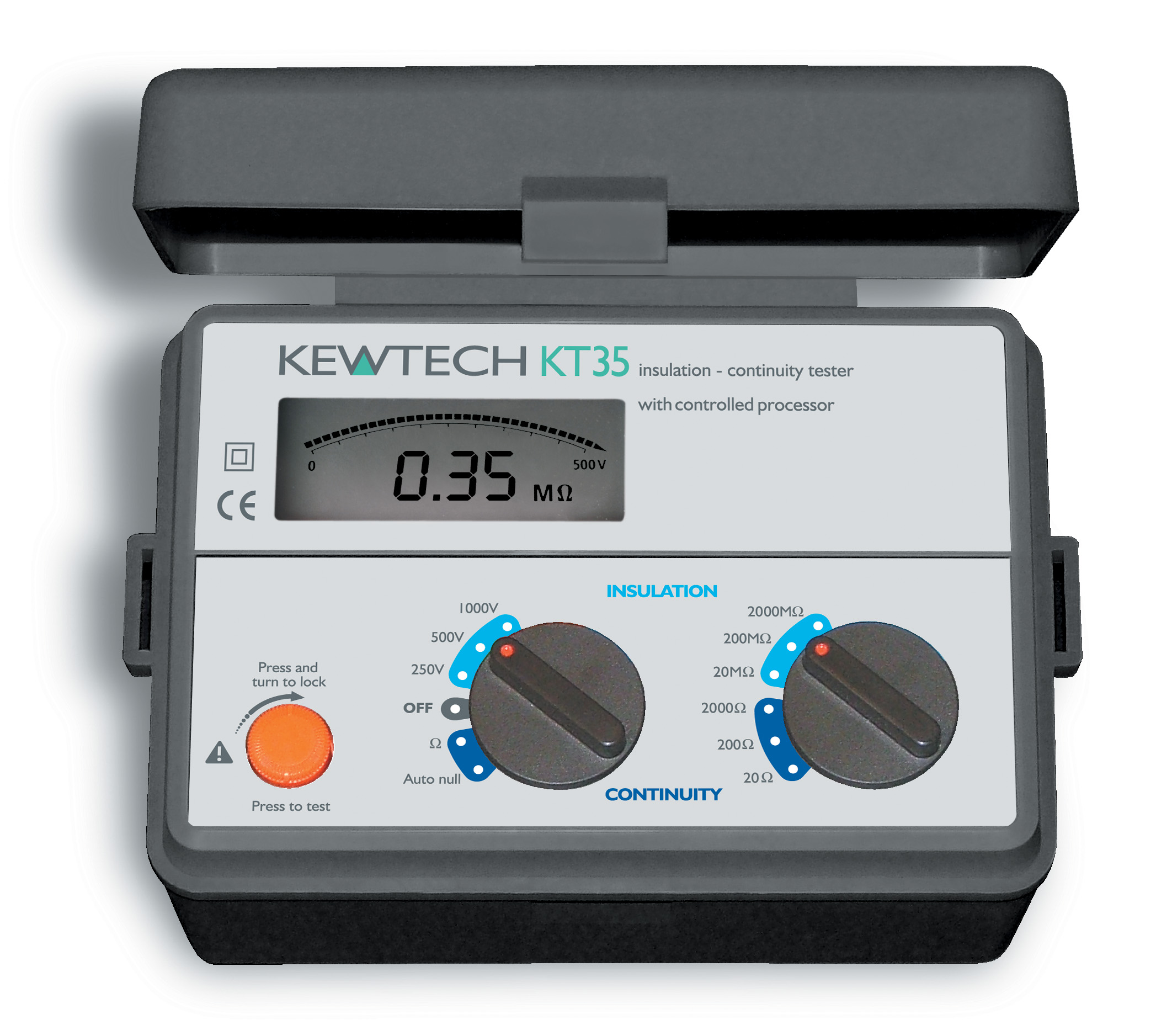 KT35 Digital Insulation/Continuity tester